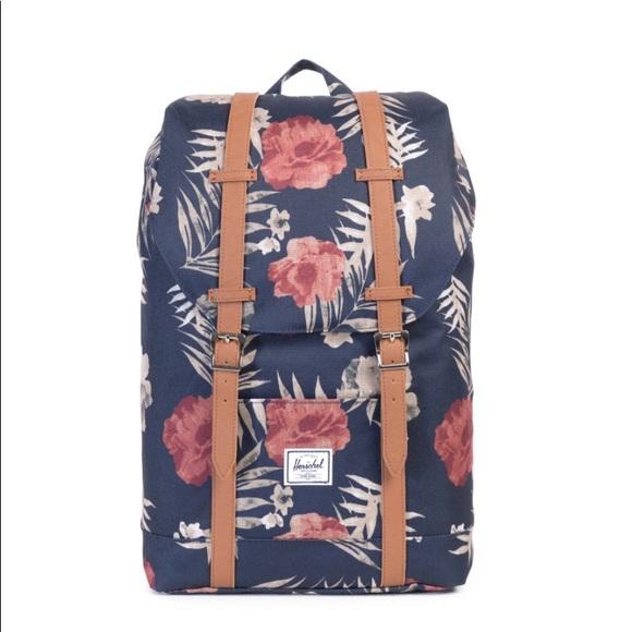 d179731d24 Herschel Supply Company Handbags - Herschel Retreat Backpack midvolume peacoat  floria